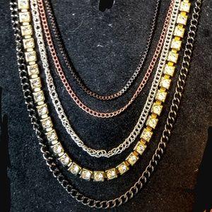 Jewelry - Vintage 5 strand necklace